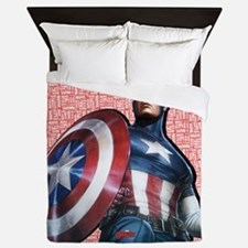 Captain America Queen Duvet