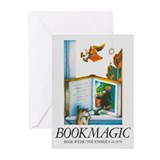 Books Greeting Cards (10 Pack)