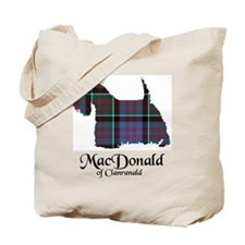 Terrier-MacDonald of Clanranald Tote Bag