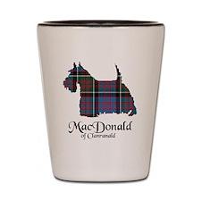 Terrier-MacDonald of Clanranald Shot Glass