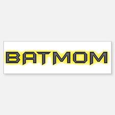 Batmom Bumper Bumper Bumper Sticker
