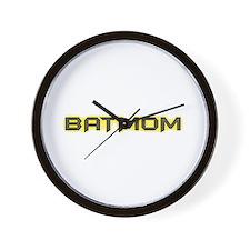 Batmom Wall Clock