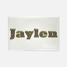 Jaylen Gold Diamond Bling Rectangle Magnet