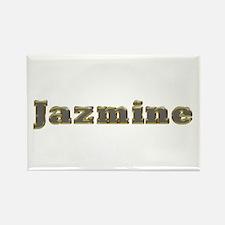 Jazmine Gold Diamond Bling Rectangle Magnet