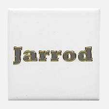 Jarrod Gold Diamond Bling Tile Coaster