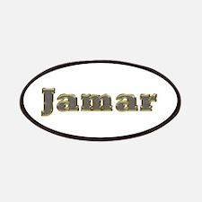 Jamar Gold Diamond Bling Patch