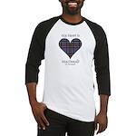 Heart-MacDonald of Clanranald Baseball Jersey