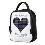 Heart-MacDonald of Clanranald Neoprene Lunch Bag