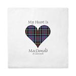 Heart-MacDonald of Clanranald Queen Duvet