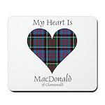 Heart-MacDonald of Clanranald Mousepad