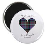 Heart-MacDonald of Clanranald Magnet