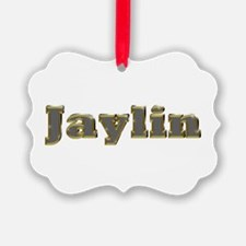 Jaylin Gold Diamond Bling Ornament