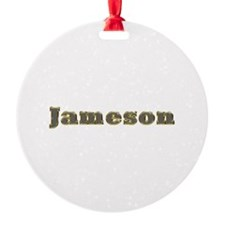 Jameson Gold Diamond Bling Ornament