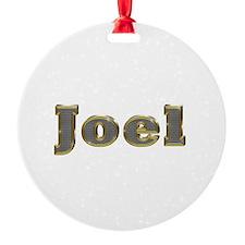 Joel Gold Diamond Bling Ornament