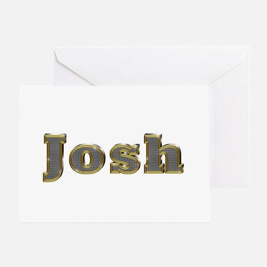 Josh Gold Diamond Bling Greeting Card
