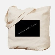 Your Name, Initials or Text Here Tote Bag