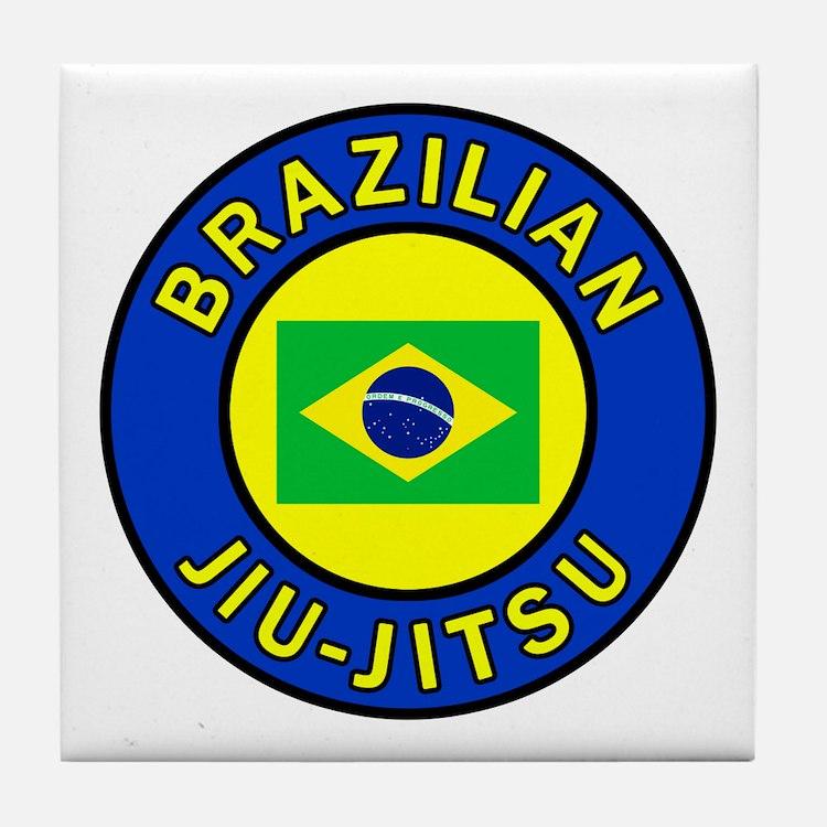 Brazilian Jiu-Jitsu Tile Coaster