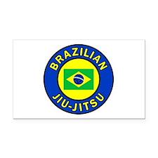 Brazilian Jiu-Jitsu Rectangle Car Magnet