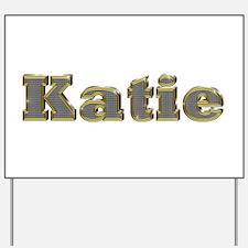 Katie Gold Diamond Bling Yard Sign