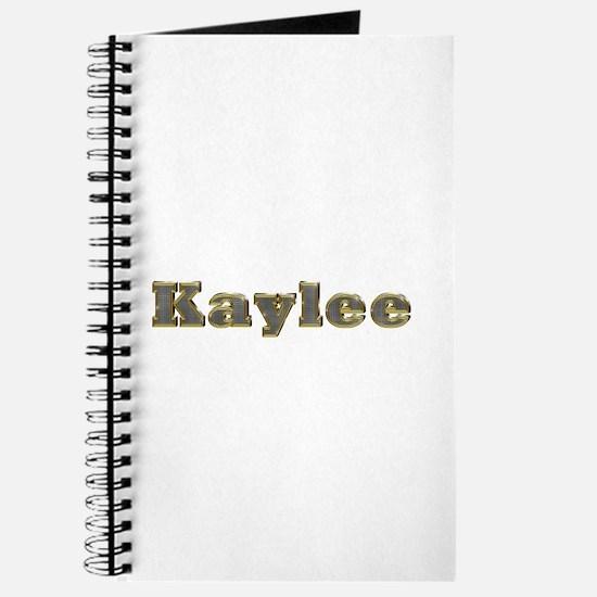 Kaylee Gold Diamond Bling Journal