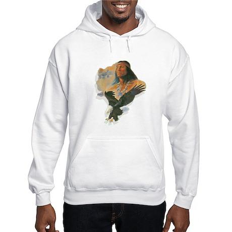Eagle Man Hooded Sweatshirt