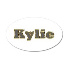 Kylie Gold Diamond Bling Wall Decal