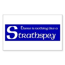 Strathspey Rectangle Decal
