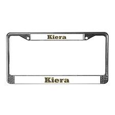 Kiera Gold Diamond Bling License Plate Frame