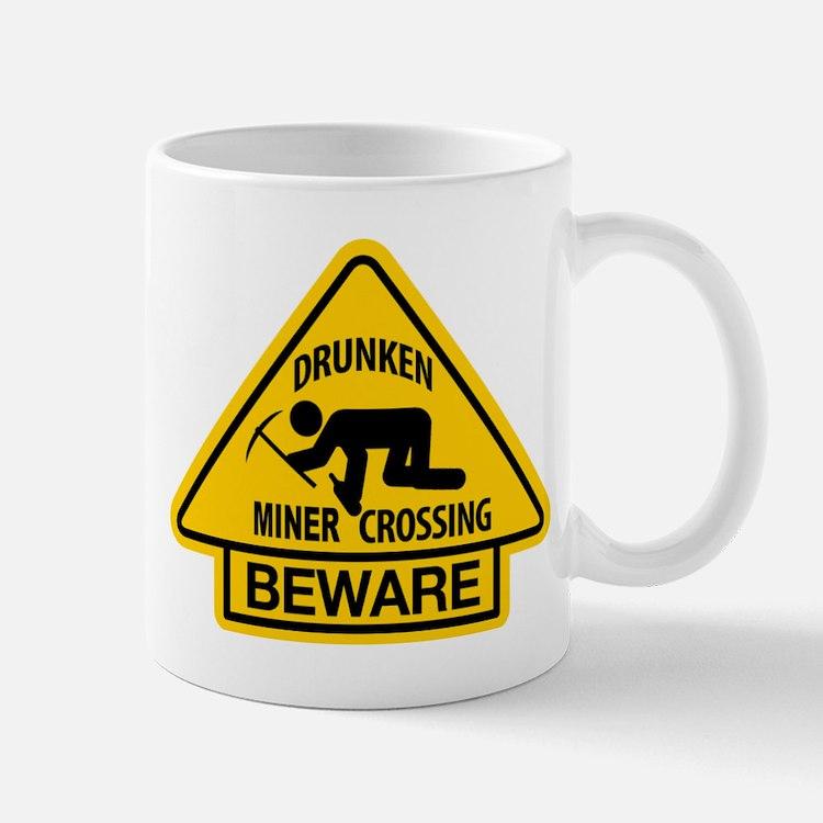 Drunken Miner Crossing Mug