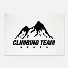 climbing 5'x7'Area Rug