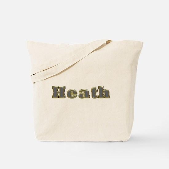 Heath Gold Diamond Bling Tote Bag
