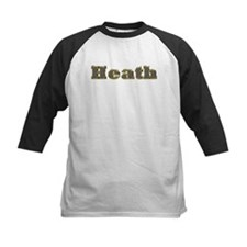 Heath Gold Diamond Bling Baseball Jersey