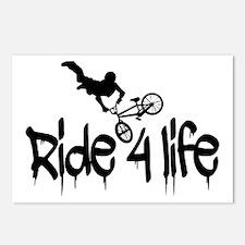biker Postcards (Package of 8)