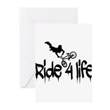 biker Greeting Cards