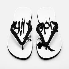 biker Flip Flops