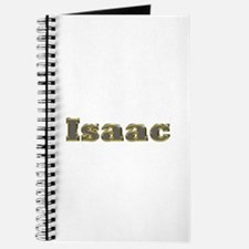 Isaac Gold Diamond Bling Journal