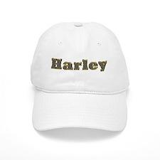 Harley Gold Diamond Bling Baseball Baseball Cap