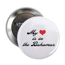 My Heart is in the Bahamas Button