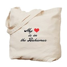 My Heart is in the Bahamas Tote Bag