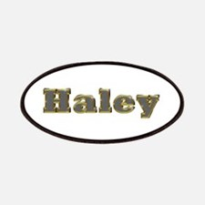 Haley Gold Diamond Bling Patch