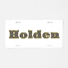 Holden Gold Diamond Bling Aluminum License Plate