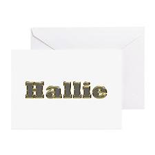 Hallie Gold Diamond Bling Greeting Card 10 Pack