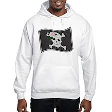 Pirate Flag w/Rose Hoodie
