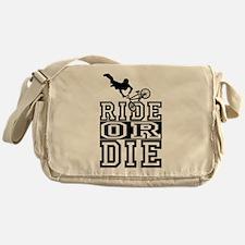 biker Messenger Bag