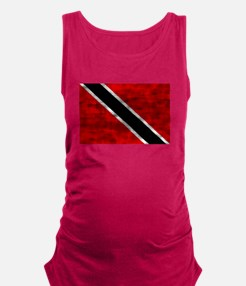 Distressed Trinidad and Tobago Flag Maternity Tank