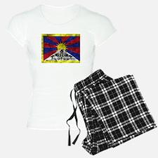 Distressed Tibet Flag Pajamas