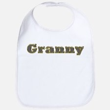 Granny Gold Diamond Bling Bib