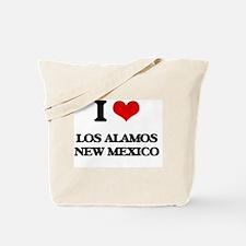 I love Los Alamos New Mexico Tote Bag