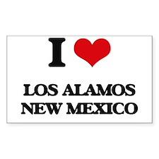 I love Los Alamos New Mexico Decal