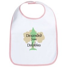 Descended from Dolphins Bib